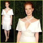 Sorry, Jessica Chastain, but this might cause the groom to have second thoughts. Let's stick with the Oscar dress