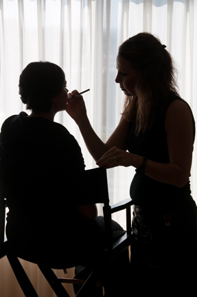 Makeup?  No surprises!